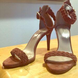 EUC BCBG Heels - brown
